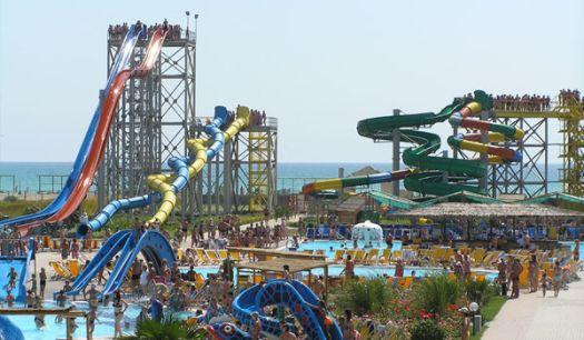Аквапарк''Банановая Республика'' - крупнейший в Крыму!