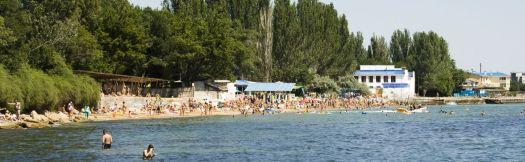Пляж ''Динамо'' - маленький, но очень аккуратный