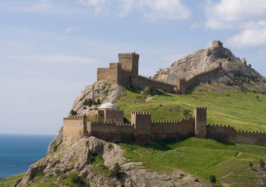 Судакскую крепость построили генуэзцы в период с 1371 по 1469 гг