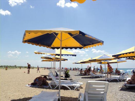Пляж вблизи посёлка Новофедоровка