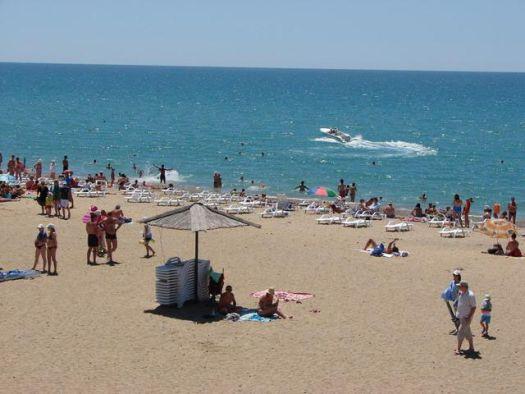 ''Новый пляж'' - один из лучших пляжей в Саках