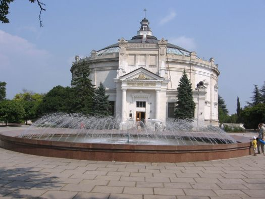 Панорама Севастополя - одна из главных исторических памяток города