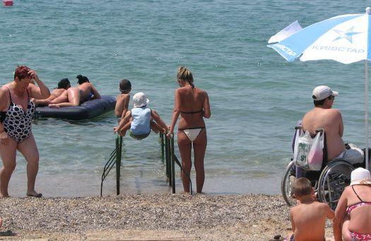 Cакские пляжи великолепны!