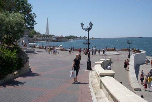 Приморский бульвар формирует облик центральной части города