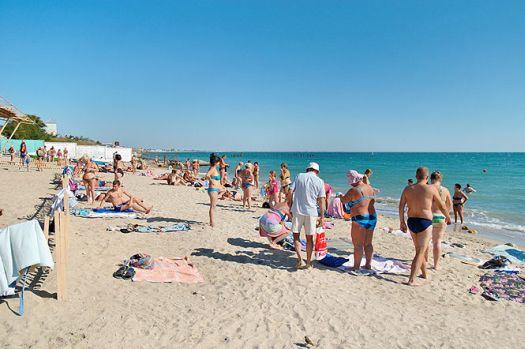 Евпаторийский пляж ''Cолярис''