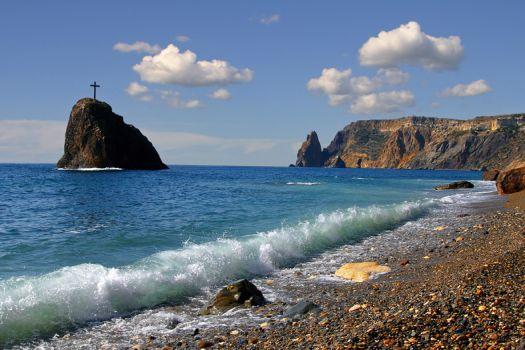 Яшмовый пляж - настоящая жемчужинка Севастопольского региона