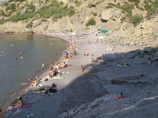Пляж получил такое название благодаря одному историческому факту: в 1912 г. здесь отдыхал сам император Николай II