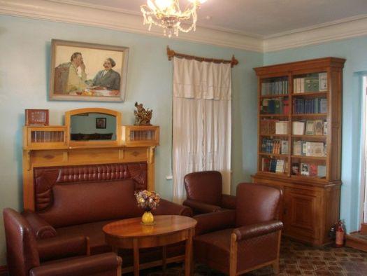 - Дом-музей писателя Сергеева-Ценского на склоне Орлиной горы и дом-музей его друга, писателя Шмёлева;