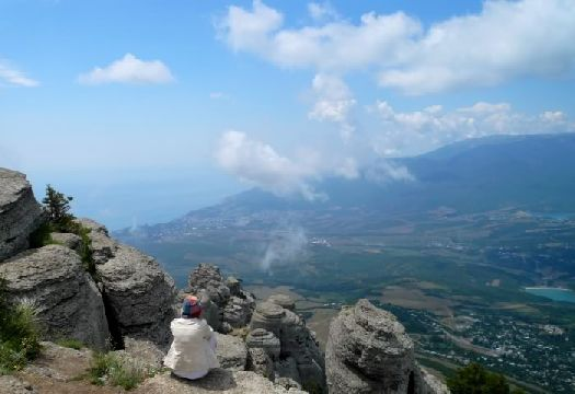 Крым - это не только море.. не меньшего внимания стоят Северный и Центральный Крым (Демерджи, долина привидений)