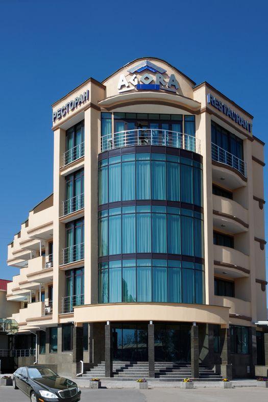 Отель ''Агора'' имеет презентабельный экстерьер