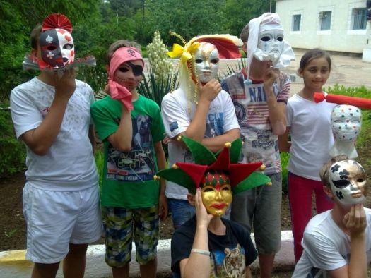 В лагере Бригантина детям всегда весело и интересно