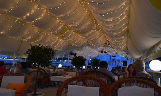 Санта Круз - один из самых романтичных ресторанов Алушты