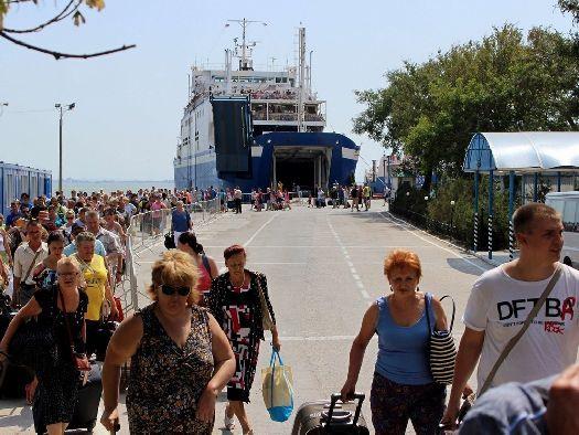 Изменение цена на паром в Крым на Керченской переправе