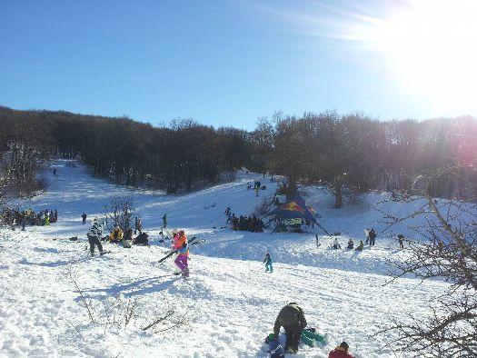 Ай-Петри - один из самых популярных горнолыжных курортов в Крыму