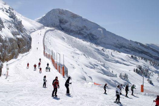 Ангарский перевал - еще один популярнейший горнолыжный курорт Крыма