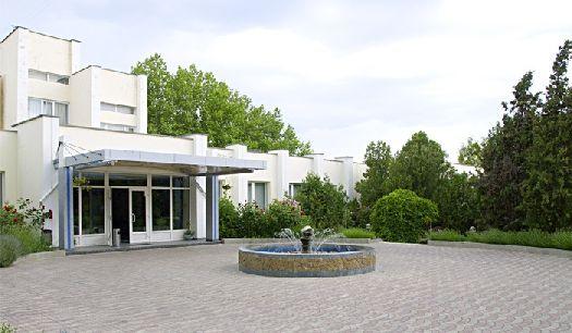 Главный вход в пансионат ''Альбатрос''