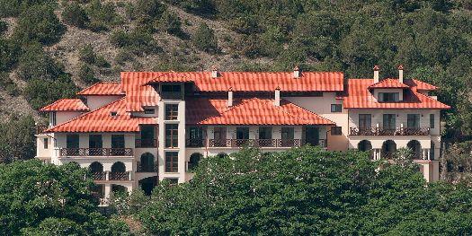 Эта гостиница больше похожа на прекрасный дворец, нежели на отель.