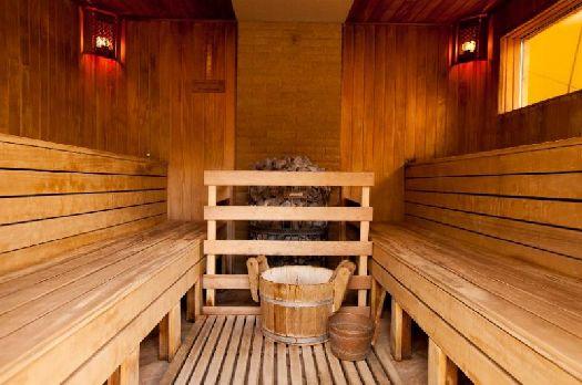 Отель предлагает своим гостям отличный банный комплекс