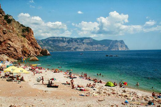 В Крыму пляжи буквально на любой вкус